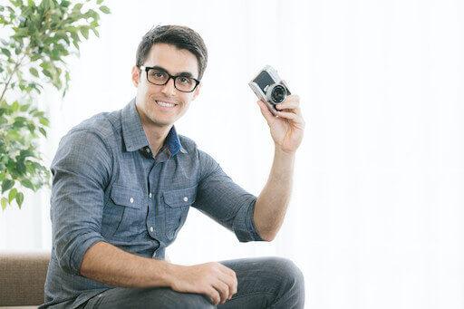 マッチングアプリで使える男性のの写真例2
